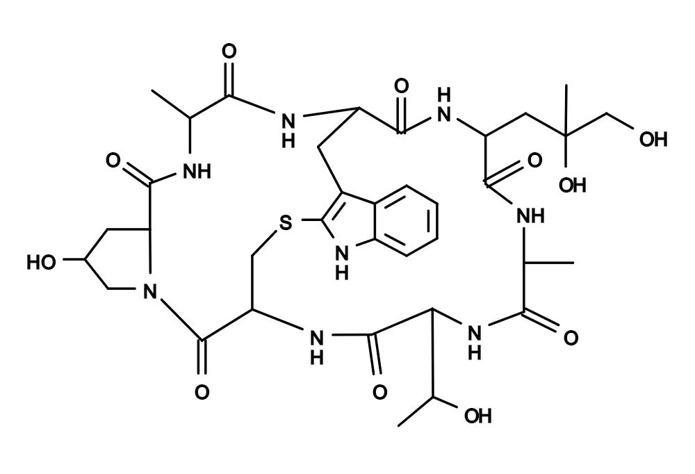 Chemical Structure of Phalloidin